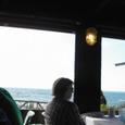 店内から海