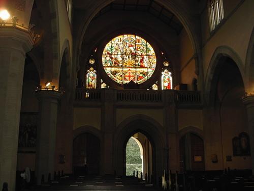 教会の出入り口