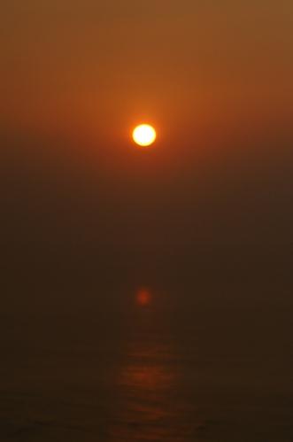 まん丸太陽
