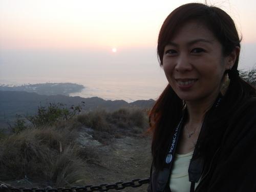 日の出と私