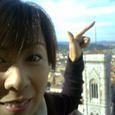 ドォーモからジョットの鐘楼を眺める