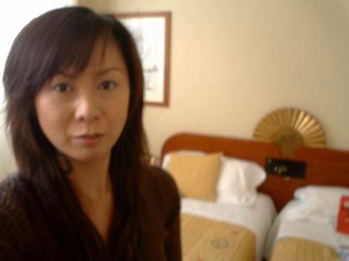ホテルローマの室内