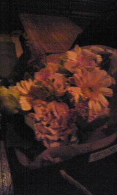いただいたお花